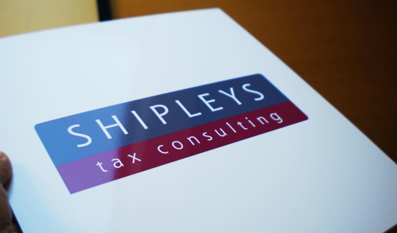 shipleys logo plaque