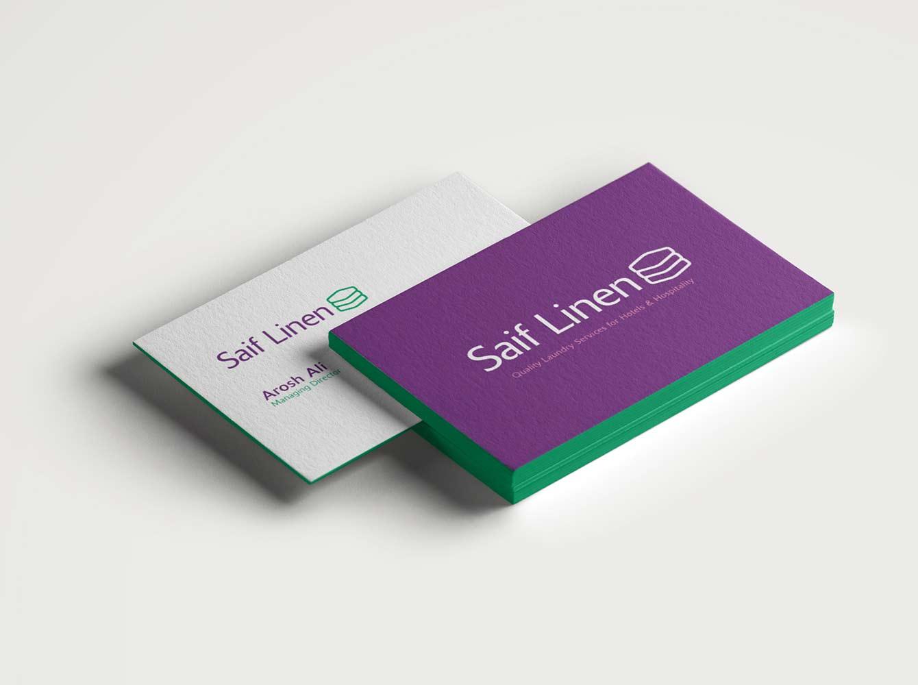 Saif Linen Business Cards