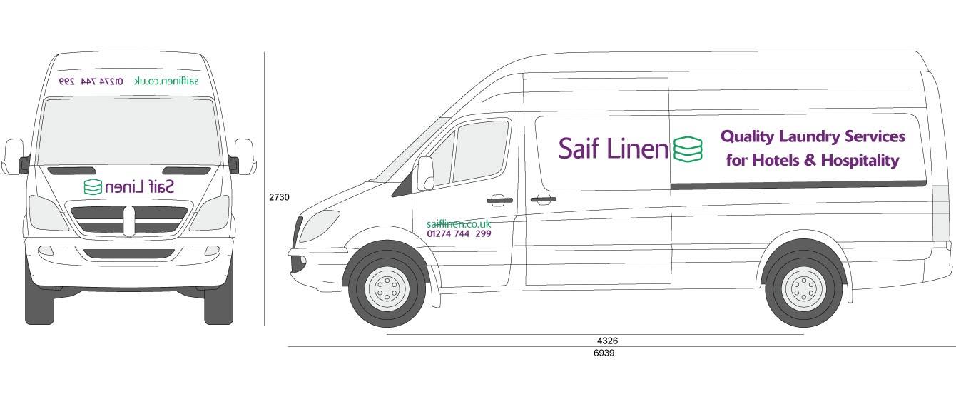 Saif Linen Van Graphics