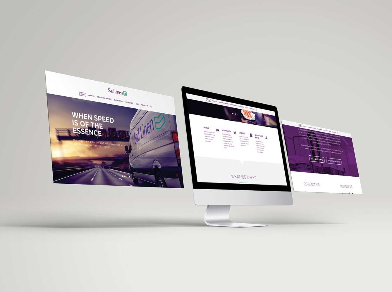 Saif Linen Website
