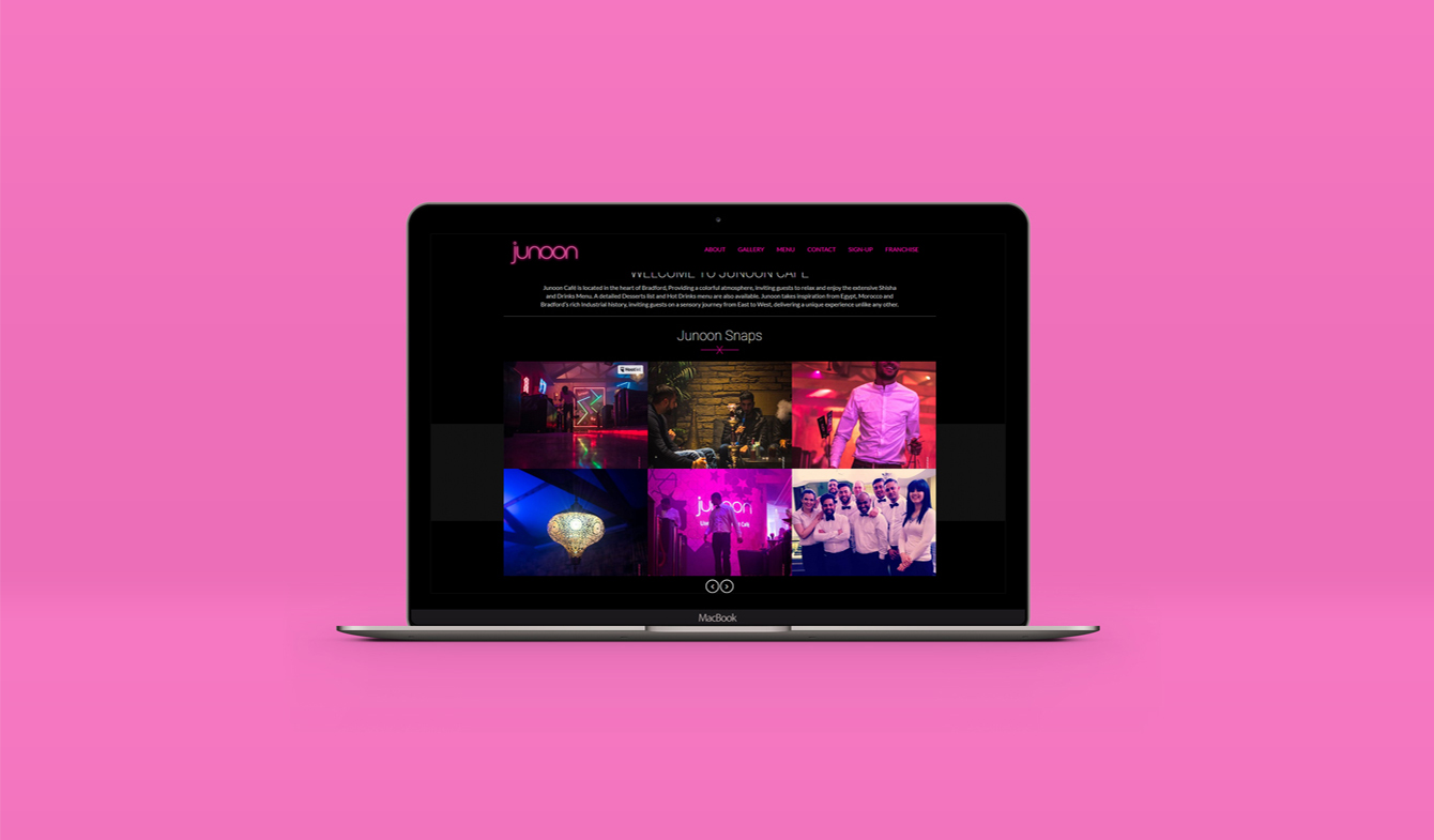 Junoon Website