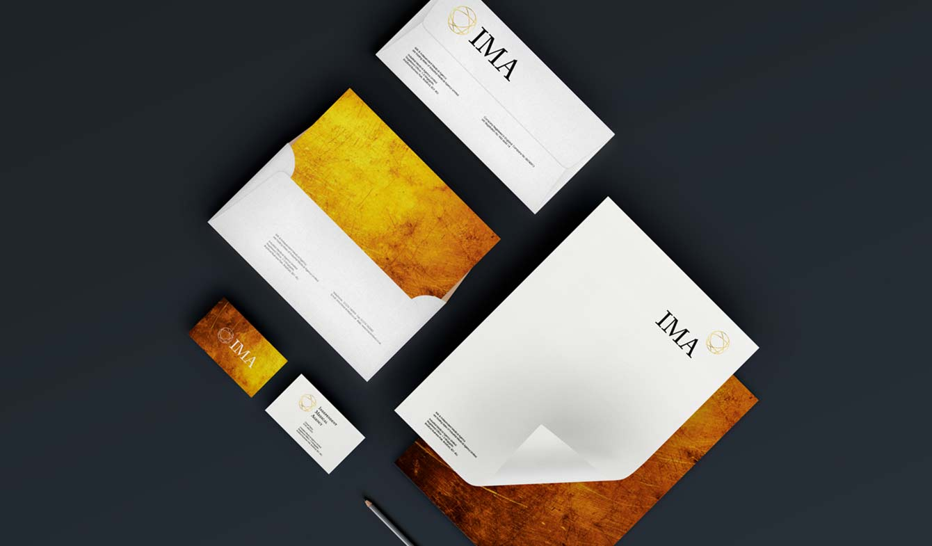 Independent Medical Agency - Stationery