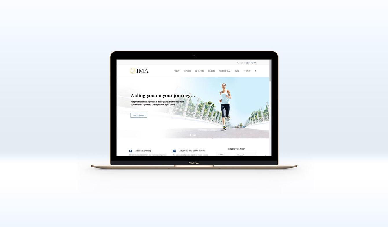 Independent Medical Agency - Website